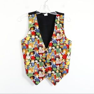 Vintage 111 Main vest novelty kindergarten school